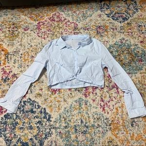 Forever 21 Blouse In Light Blue